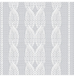 Knit fabric vector