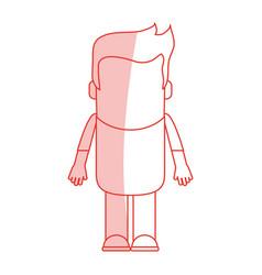 man vector image