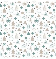 Textile tribal background Geometric scandinavian vector