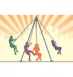 swings vector image vector image