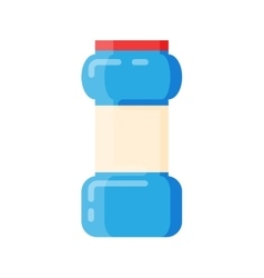 Bottle template blank package container vector image vector image