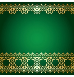 Green Background With Gold Frame Vector Images Over 3200