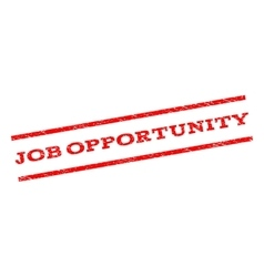Job Opportunity Watermark Stamp vector