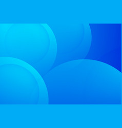 Modern blue backgrounds abstract 3d circle vector