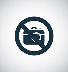 Photo forbidden vector