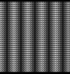 seamless black vertical pattern vector image