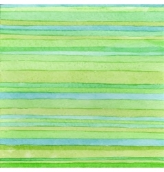 Striped hand drawn watercolor background Handmade vector