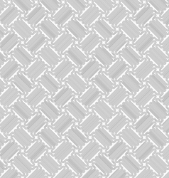 Slim gray countered thick T shapes with offset vector image vector image