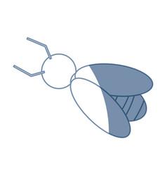 Bee work cooperation image sketch vector