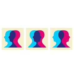 go social interaction vector image vector image