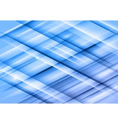 abstract lines blue cross full vector image