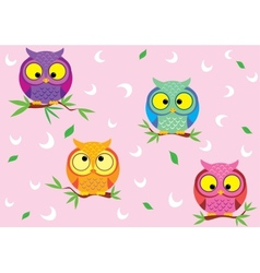 background owl vector image