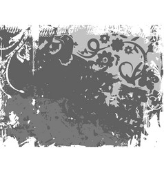 background with grunge texture vector image
