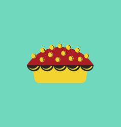 delicious pie vector image