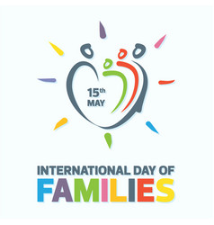 families day vector image
