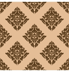 Floral motif arabesque pattern vector