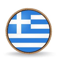 Greece Seal vector image