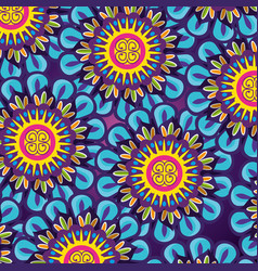 Mandalas flowers background to diwali festival vector