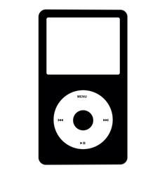 music listening icon vector image