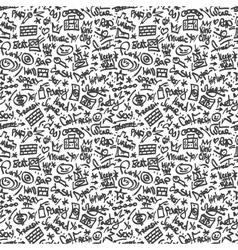 Rap - seamless background vector