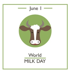 World Milk Day vector image
