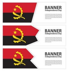 Angola banner vector