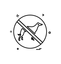 animal killing icon design vector image