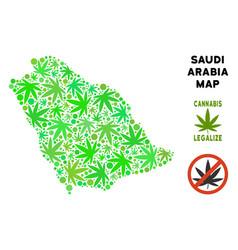 Royalty free marijuana leaves collage saudi arabia vector