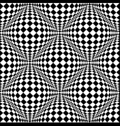 seamless 3d pattern with mosaic of squares with vector image
