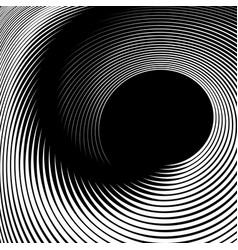 Spiral swirl movement vector
