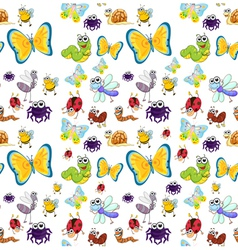 Various insects vector
