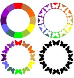 Ornament set 67 vector image