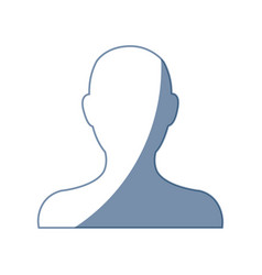 portrait avatar people web character vector image