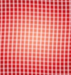 Red tartan pattern background vector image