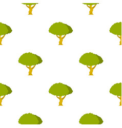 tree pattern flat vector image vector image