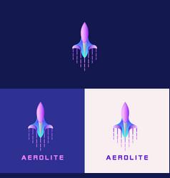 Aerolite logo design vector