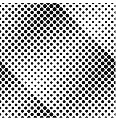 circle pattern background - black and white vector image