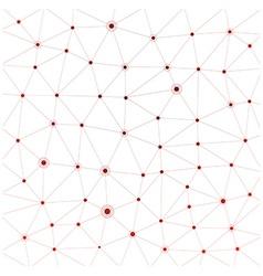 Communication social background vector image