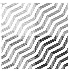 line tile seamless black background vector image
