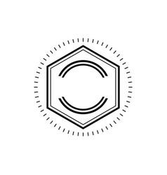 Vintage retro blank labels logo vector