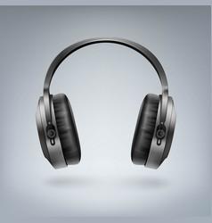 wireless headphones vector image