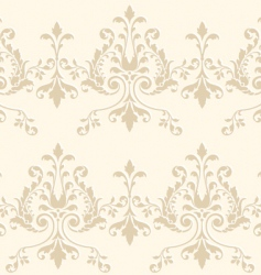damask wallpaper vector image vector image