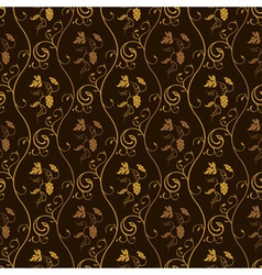 seamless wallpaper background grapes decor vintage vector image
