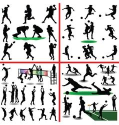 sport mix vector image vector image
