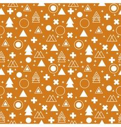 Tribal background ethnic geometric seamless vector