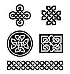 Celtic knots patterns - vector image