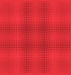 Abstract dot seamless background in red tones vector