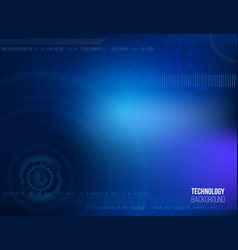 abstract science and technology background vector image
