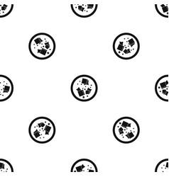 asian sauce pattern seamless black vector image
