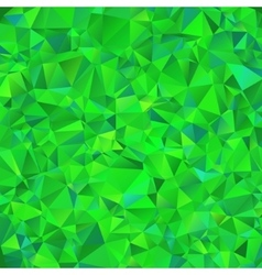Green polygonal mosaic background vector